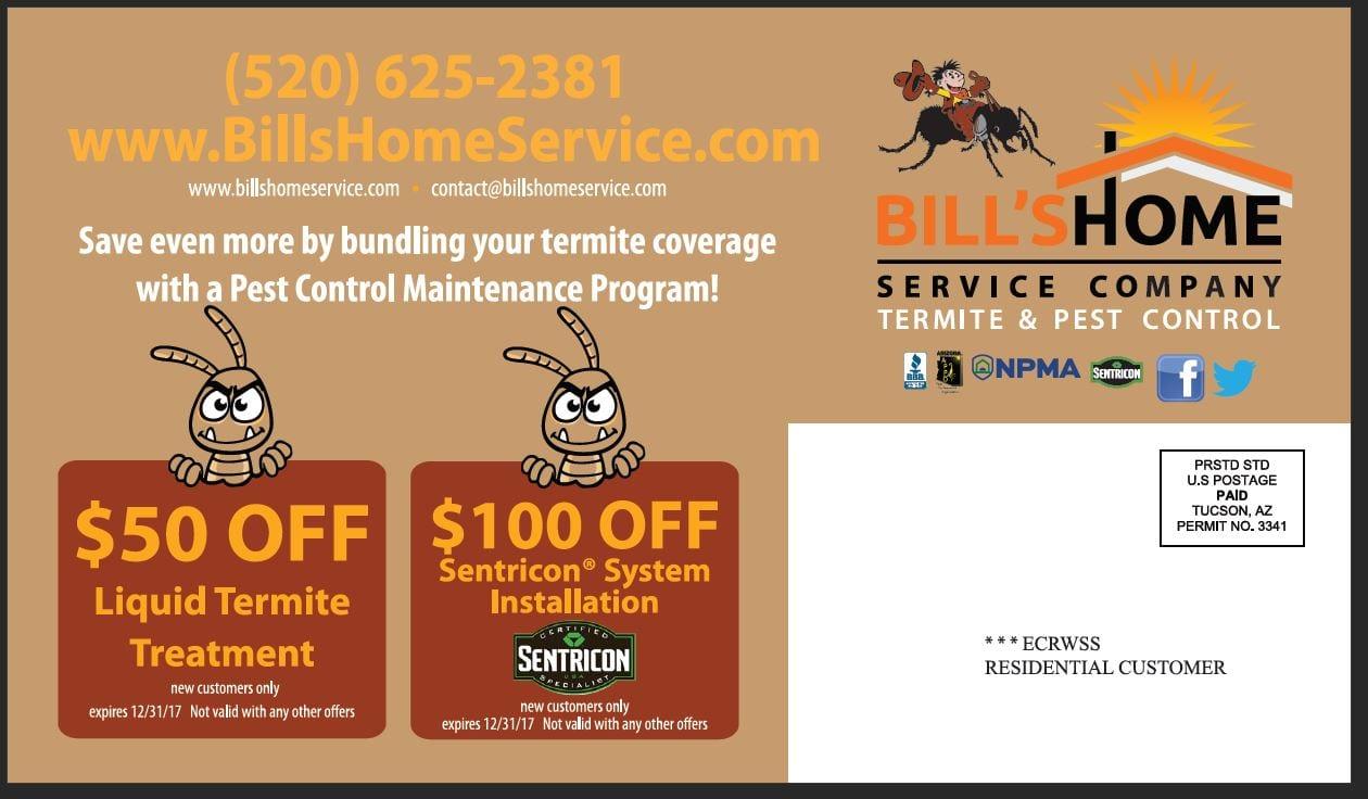 direct mail marketing services bills