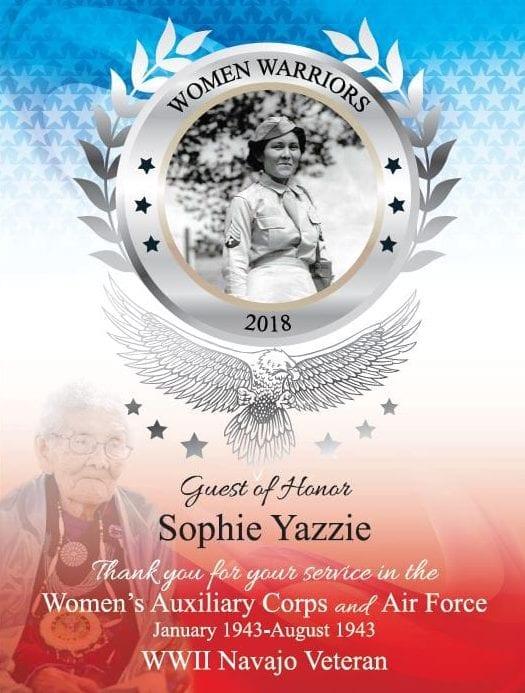 flyer design women warriors