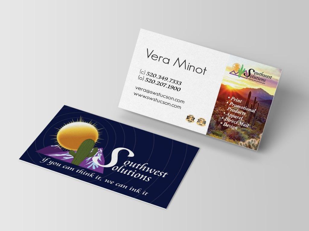 Southwest Solutions business card design