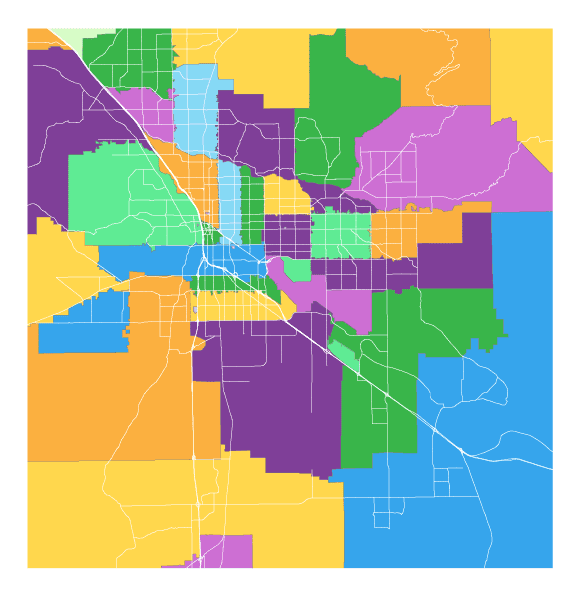 tucson zipcode map