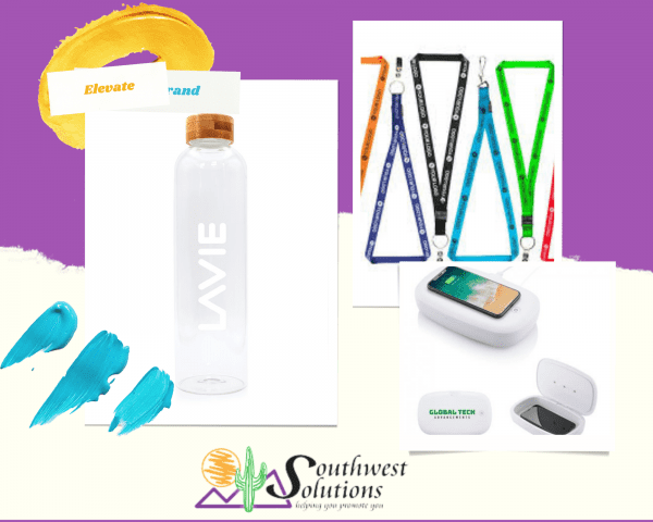 branding materials examples from sws
