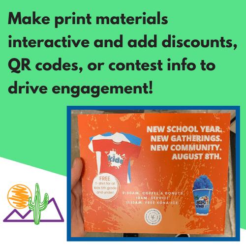 best marketing print materials tucson