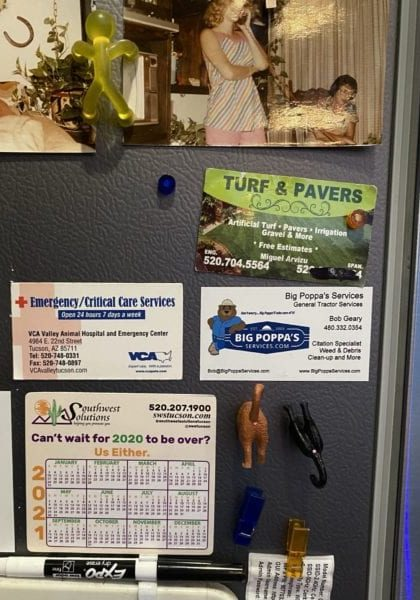promotional fridge magnets with small business logos